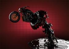 жидкость тяпки bike Стоковые Изображения