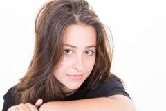 Жизнерадостная красота девушки подростка Стоковое Изображение RF