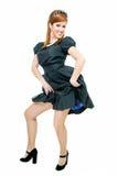 жизнерадостное redheaded стоковая фотография
