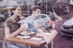 Жизнерадостные 3 друз есть совместно Стоковые Изображения RF