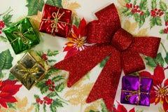 жизнерадостные украшения рождества Стоковое Фото