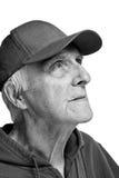 жизнерадостный пожилой человек Стоковые Фото