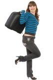 жизнерадостный портрет девушки Стоковые Фотографии RF
