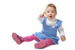 жизнерадостный ребенок Стоковые Изображения RF