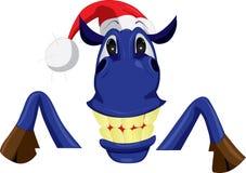 Жизнерадостная голубая лошадь Стоковая Фотография RF