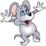 жизнерадостная мышь Стоковые Фотографии RF