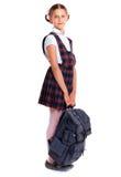 Жизнерадостная школьница Стоковые Изображения