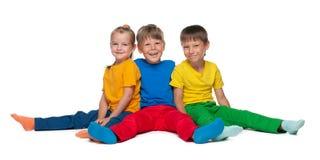 жизнерадостные дети 3 Стоковые Фотографии RF