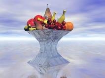 жизнерадостные плодоовощи плодоовощ смешали Стоковое Изображение RF