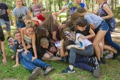 Жизнерадостный праздник Куч-на Стоковая Фотография RF
