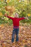 Жизнерадостный ребенок Стоковая Фотография