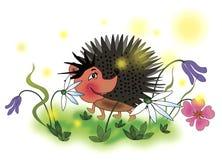 жизнерадостный hedgehog Стоковое Изображение