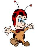 Жизнерадостный ladybug Стоковая Фотография RF