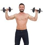Жизнерадостный lifter весов Стоковые Фотографии RF