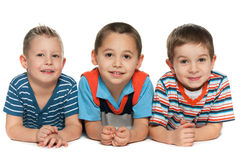 3 жизнерадостных друз Стоковые Фотографии RF
