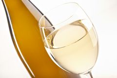 жизни вино все еще белое Стоковое Изображение