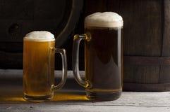 жизнь бочонка пива все еще Стоковая Фотография RF