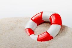 Жизнь более безопасная на пляже Стоковые Фото
