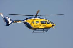 жизнь вертолета полета Стоковое Изображение