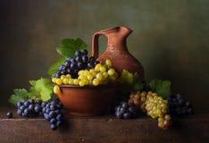 жизнь виноградин все еще Стоковые Фотографии RF