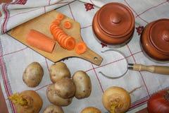 1 жизнь все еще Сбор овощей разнообразия свежих Стоковая Фотография RF