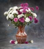 1 жизнь все еще Цветок букета осени Стоковые Изображения RF
