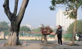 Жизнь въетнамских поставщиков в Сайгоне Стоковые Фотографии RF
