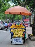 Жизнь въетнамских поставщиков в Сайгоне Стоковая Фотография RF