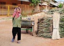 Жизнь въетнамских поставщиков в Сайгоне Стоковое Изображение