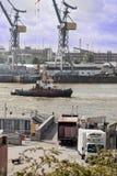 Жизнь в порте Стоковые Фото