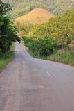 Жизнь города сельской местности дороги путя Стоковое Фото
