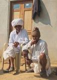 Жизнь деревни, сельский Раджастхан, Индия Стоковые Фотографии RF
