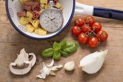 жизнь еды итальянская все еще Стоковая Фотография RF