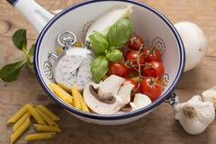 жизнь еды итальянская все еще Стоковые Изображения RF