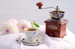 жизнь кофе все еще Стоковые Фото