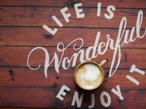 Жизнь кофе Стоковая Фотография