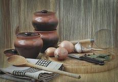 жизнь кухни все еще Стоковое Изображение RF