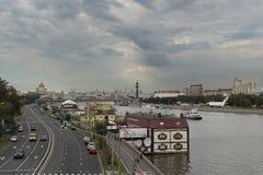 Жизнь Москвы Стоковая Фотография RF