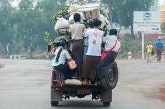 Жизнь Мьянмы Стоковая Фотография RF