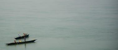 Жизнь на реке стоковое изображение