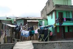 Жизнь на улицах в крышке гаитянской, Гаити Стоковая Фотография