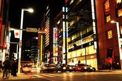 Жизнь ночи Токио Стоковые Изображения