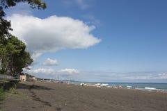 Жизнь пляжа Перемещение или концепция каникул моря Стоковое Изображение