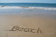 Жизнь пляж, схематический праздник пляжа стоковые изображения rf