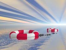 жизнь предпосылки 3d изолированная томбуем сделала белизну предмета Стоковое Фото