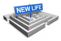 жизнь принципиальной схемы новая Стоковое фото RF