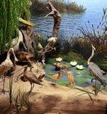Жизнь птицы Стоковые Фото
