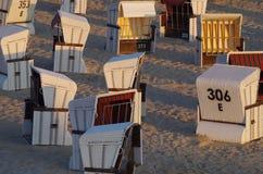 Жизнь пляжа на Балтийском море Стоковые Фото