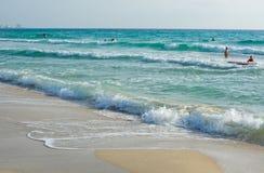 Жизнь пляжа осени Стоковое Изображение