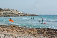 Жизнь пляжа Стоковые Изображения